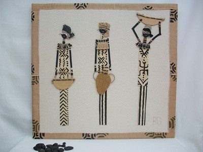 Trio de africanas